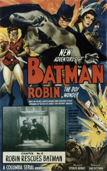 BATMAN AND ROBIN, 1949