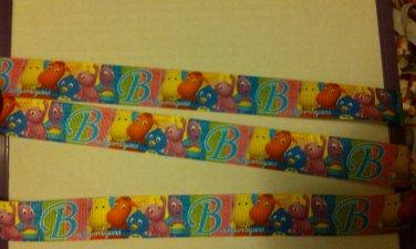 5 yrds Backyardigans character printed ribbon