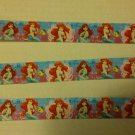 ariel princess grosgrain ribbon 7/8 5yrds