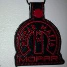 Custom keychain NW MOPAR MAFIA black and red
