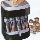 Coin Bank Sorter Digital Counter Motorized