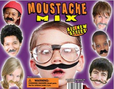 250 Fake Mustaches Mustache Birthday Party Favors Bulk Lot Wholesale Moustache