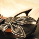 Anne Klein Black Leather - Sz 6.5