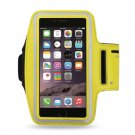Reiko Sport Armband For Universal 5.5 Inch Devices Yellow