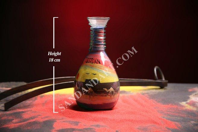 Sand Art Bottles -Medium  1