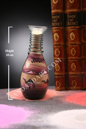 Sand Art Bottles -Medium 3
