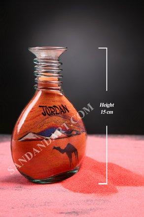 Sand Art Bottles -Small Wide  1