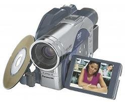 "PANASONIC VDRM50 DVD-RAM-DVD-R DIGITAL CAMCORDER 2.5"" LCD"