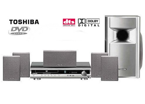Toshiba SD-KT50 320W Home Theater System