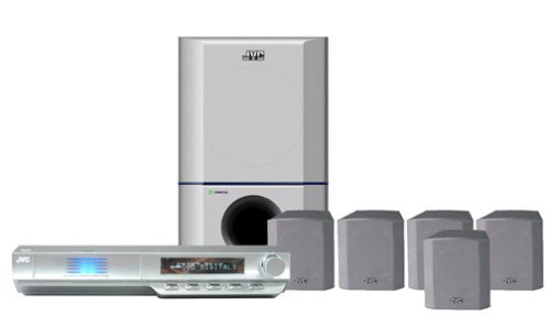 JVC TH-M45 5-Disc Progressive Scan Home Theater System