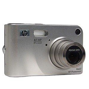 HP Photosmart R607 4.1 MP 3X-7X Zoom Digital Camera - FACTORY REFURBISHED
