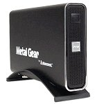 Metal Gear Box 3.5-inch USB 2.0 Aluminum External Case (Black)
