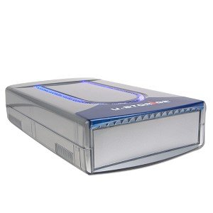 5.25'' USB 2.0 External Drive Case with LED (Silver)