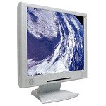 17 Inch TFT LCD Flat Panel Monitor withe Speakers  - Beige- BRAND NEW