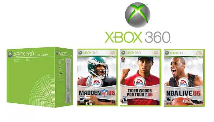Xbox 360 Core Sports Bundle Video Game System