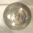 WMF Zinn Miniature Pewter Plate Rembrandt The Man with the Golden Helmet