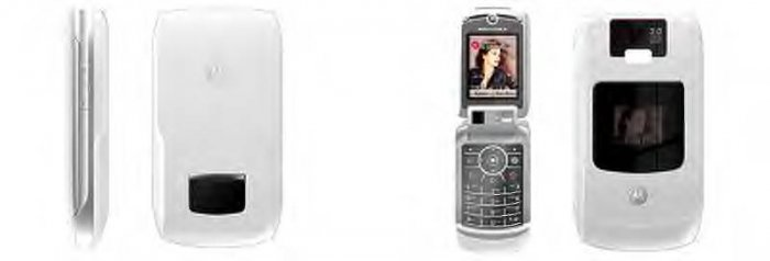 Motorola V3X White unlocked Gsm Cell Phone