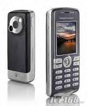 SONY ERICSSON K510 silver Mp3 Cell Phone Unlocked!