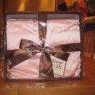 100% Organic Chartmuse Silk Baby Blanket Pink (Silk fill)