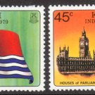 Kiribati #325-26, MNH - Independence, 1979