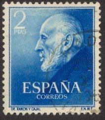 Spain #793, used