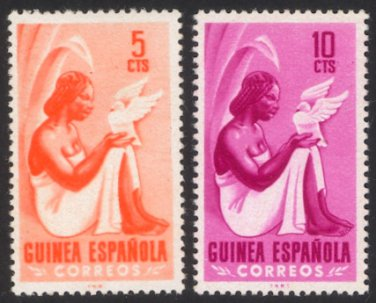 Spanish Guinea #326-327 (2 stamps), mint