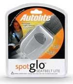 AUTOLITE SPOTGLO SEATBELT LITE/LIGHT *SUPER BRIGHT* NEW