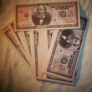 2- MILLION DOLLAR BILL NOVELTY/PLAY MONEY *MINT*