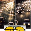 NIGHT VISION REGULAR DRIVING GLASSES*DRIVE SAFELY AT NIGHT!*