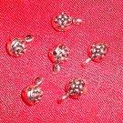 5- Bail Spacer Joiner Beads 7mm *Tibetan Silver *