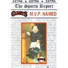 GIANTS Headline Heroes Photo Frame ~ Giants Baseball Team Picture Frame