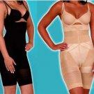 1- California Beauty Slim N Lift Supreme Shaper Undergarment~ Black Size Medium
