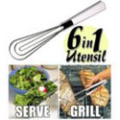 3 PC. 6 IN 1 COOKING UTENSIL *NEW*