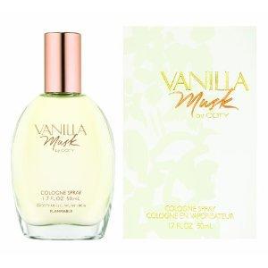 COTY VANILLA MUSK 1.7 OZ. COLOGNE SPRAY~UN-BOXED