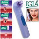 "IGIA PORE CLEANER PLUS MICRODERM 3"" ROUND FACIAL PAD/DISK *RIDS ACNE*"