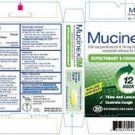 Mucinex DM 60 Tablets Extended-Release Bi-Layer Tablets 600 mg ~ 10/2014 EXP. DATE