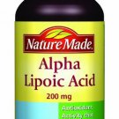 Nature Made Alpha Lipoic Acid Softgel 200 mg ~30 Count EXPIRED 3/2015 EXPIRED