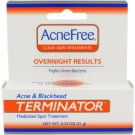 ACNEFREE TERMINATOR OVERNIGHT RESULTS MEDICATED SPOT TREATMENT .75 OZ. *EXPIRED*