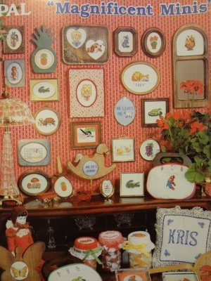 PAL Charted Designs for Counted Cross Stitch Magnificent Minis