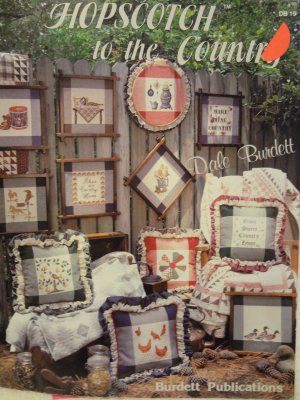 Dale Burdett Hopscotch to the Country Counted Cross Stitch Leaflet