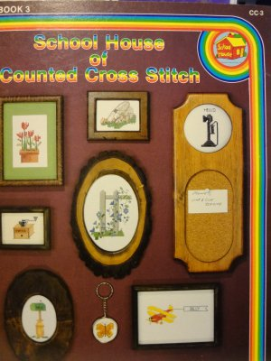 School House of Counted Cross Stitch Book 3