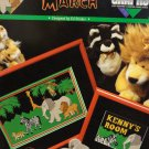 Great Big Graphs Jungle March Counted Cross Stitch Leaflet