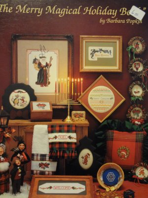 The Merry Magical Holiday Book Counted Cross Stitch Leaflet