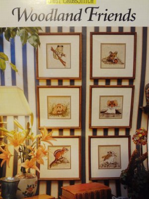 Just Cross Stitch Woodland Friends Counted Cross Stitch Leaflet