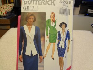 Butterick 5269 Misses' Top & Skirt (size 12-14-16)