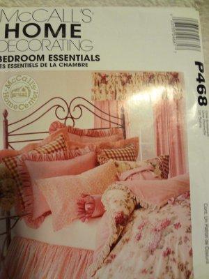 McCalls P468 Bedroom Essentials