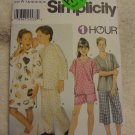 Simplicity 9490 Girls' and Boys' Loungwear (size 7,8,10,12,14,16)