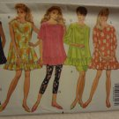 Butterick 6072 Misses'/Misses' Petite Top, Skirt & Leggings (size XS,S,M)