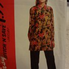 Stitch 'N Save by McCalls 6095 Misses' Blouse & Pants (size 10,12,14,16)