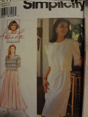 Simplicity 9611 Misses' Dress (Size 10,12,14,16)